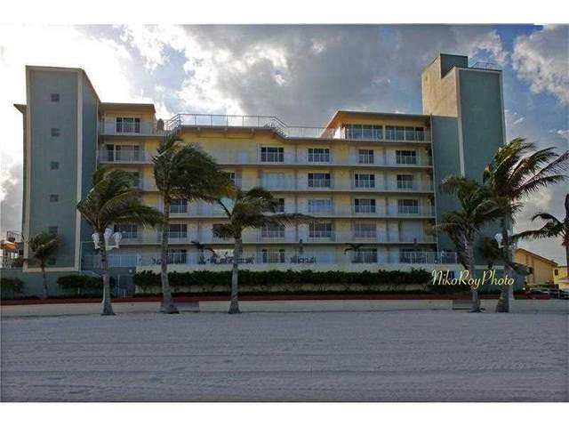 300 Oregon St #205, Hollywood, FL 33019 (#F10263157) :: Signature International Real Estate