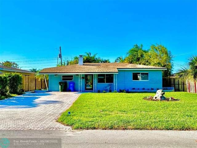 381 NE 43rd St, Oakland Park, FL 33334 (MLS #F10277793) :: The Paiz Group
