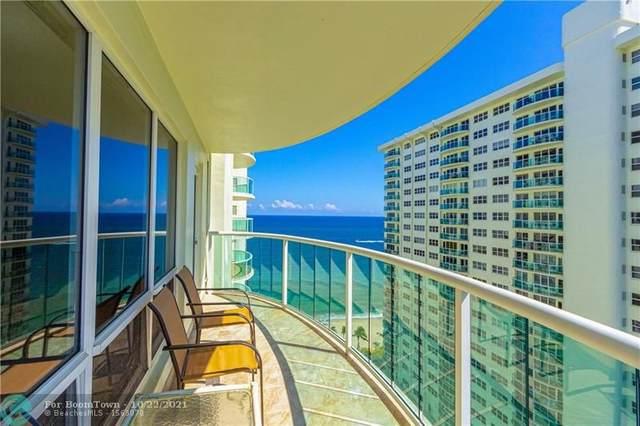 3410 Galt Ocean Dr 1610N, Fort Lauderdale, FL 33308 (MLS #F10304322) :: The DJ & Lindsey Team