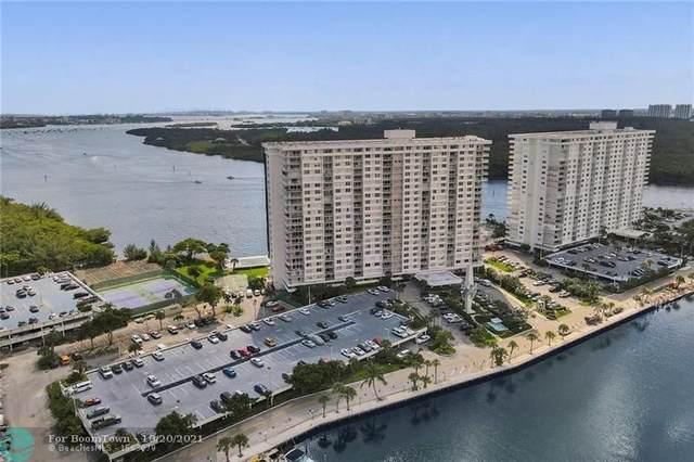 300 Bayview Dr #1407, Sunny Isles Beach, FL 33160 (MLS #F10304918) :: The DJ & Lindsey Team