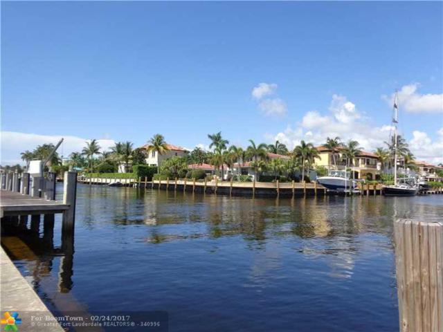 2601 NE 26TH AVE, Lighthouse Point, FL 33064 (MLS #F1381147) :: Green Realty Properties