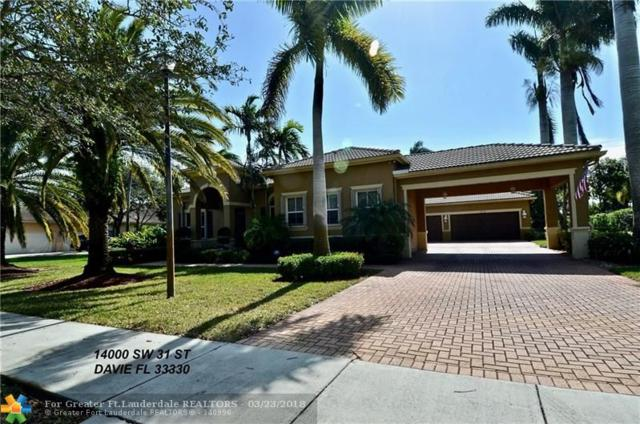 14000 SW 31st St, Davie, FL 33330 (MLS #F10104878) :: Green Realty Properties