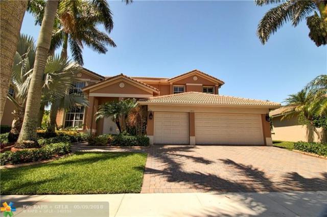 1811 Harbor Pointe Cr, Weston, FL 33327 (MLS #F10119643) :: Green Realty Properties