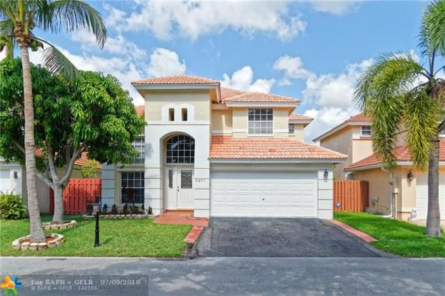 2671 NW 68th Ter, Margate, FL 33063 (MLS #F10122077) :: Green Realty Properties