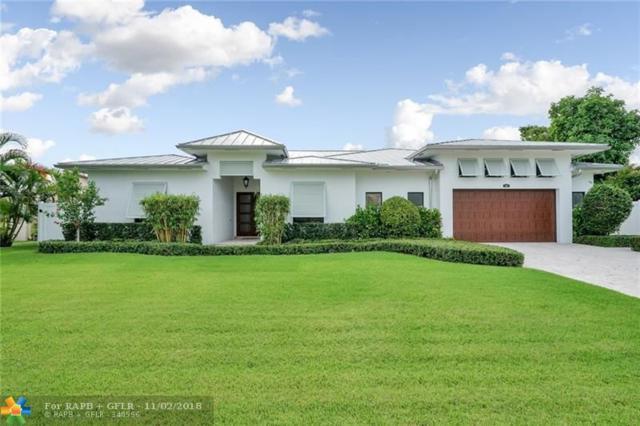 4461 NE 25 AV, Lighthouse Point, FL 33064 (MLS #F10139083) :: Green Realty Properties