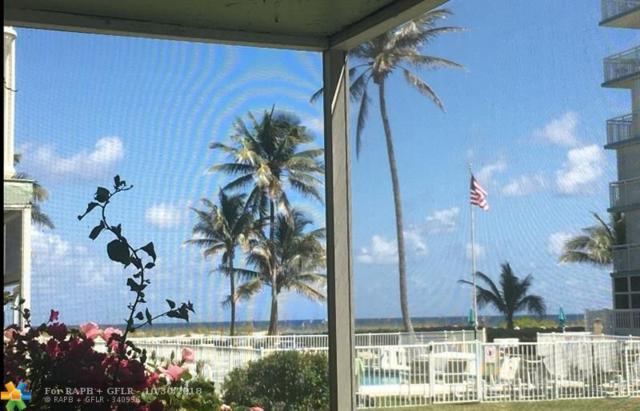 1750 S Ocean Blvd #104, Lauderdale By The Sea, FL 33062 (MLS #F10141264) :: Green Realty Properties