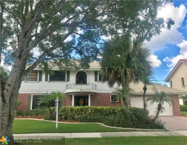 871 Amherst Ave, Davie, FL 33325 (MLS #F10143451) :: Green Realty Properties