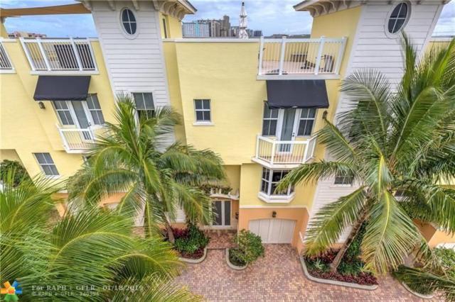 4332 Sea Grape Dr #8 #8, Lauderdale By The Sea, FL 33308 (MLS #F10155389) :: Green Realty Properties