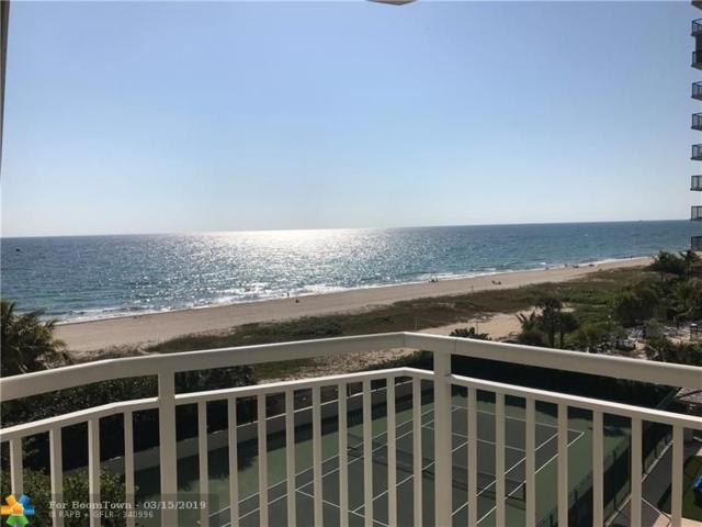 1770 S Ocean Blvd #605, Lauderdale By The Sea, FL 33062 (MLS #F10155761) :: Laurie Finkelstein Reader Team