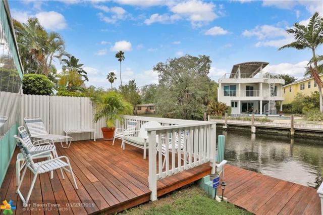 663 Ponce De Leon Dr, Fort Lauderdale, FL 33316 (MLS #F10167893) :: Green Realty Properties