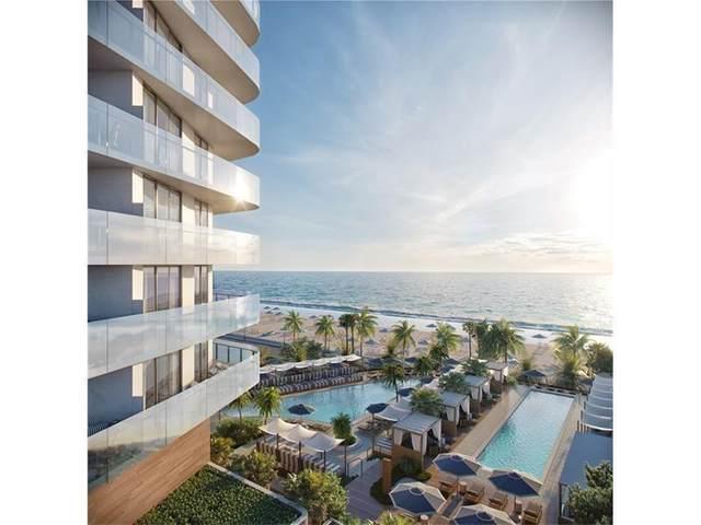 525 N Ft Lauderdale Bch Bl #1801, Fort Lauderdale, FL 33304 (MLS #F10186800) :: Castelli Real Estate Services