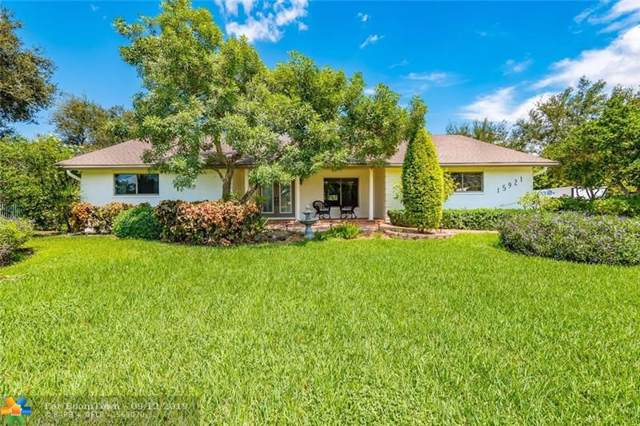 15921 SW 53rd Ct, Southwest Ranches, FL 33331 (MLS #F10192576) :: RICK BANNON, P.A. with RE/MAX CONSULTANTS REALTY I