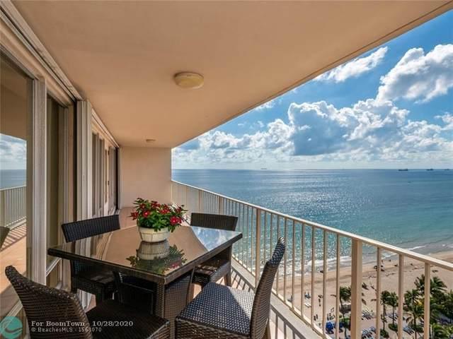 4100 Galt Ocean Dr #1608, Fort Lauderdale, FL 33308 (#F10203077) :: Posh Properties