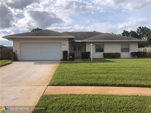 1363 Westchester Dr, West Palm Beach, FL 33417 (MLS #F10204402) :: RICK BANNON, P.A. with RE/MAX CONSULTANTS REALTY I