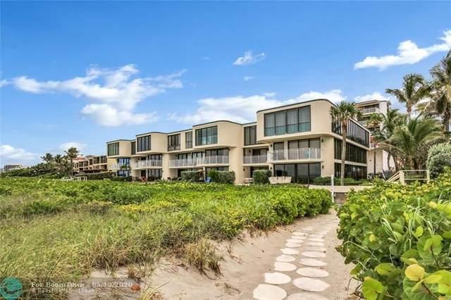 2155 S Ocean Blvd #8, Delray Beach, FL 33483 (MLS #F10208610) :: Green Realty Properties