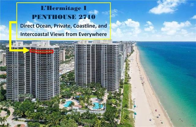 3100 N Ocean Blvd Ph2710, Fort Lauderdale, FL 33308 (MLS #F10228048) :: Castelli Real Estate Services