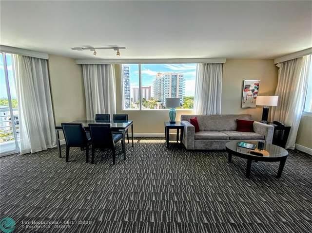 2670 E Sunrise Blvd #601, Fort Lauderdale, FL 33304 (MLS #F10230668) :: Berkshire Hathaway HomeServices EWM Realty