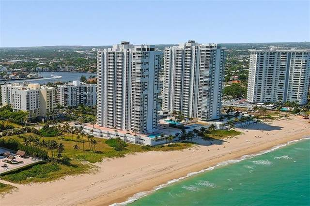 1370 S Ocean Blvd #1005, Pompano Beach, FL 33062 (#F10230885) :: Baron Real Estate