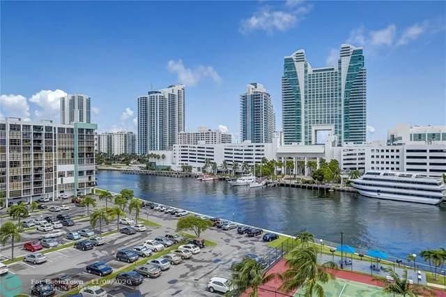 200 Leslie Dr #809, Hallandale, FL 33009 (MLS #F10244864) :: Berkshire Hathaway HomeServices EWM Realty