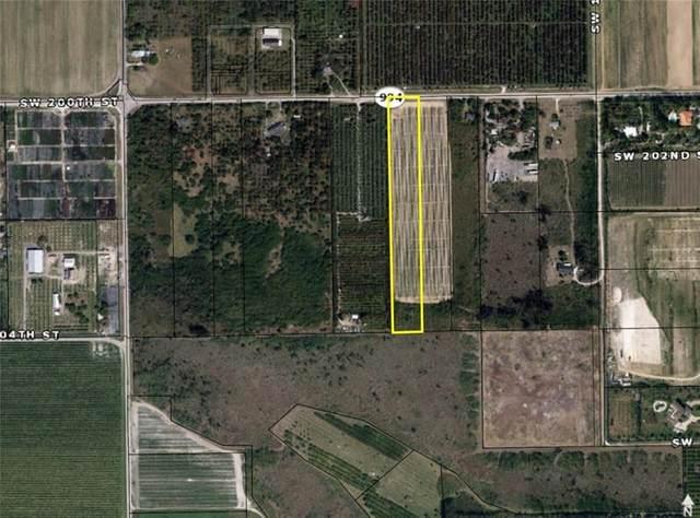 144xx SW 200 Street, Miami, FL 33177 (MLS #F10252278) :: Berkshire Hathaway HomeServices EWM Realty