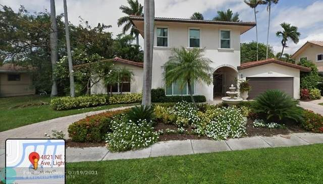 4821 NE 28th Ave, Lighthouse Point, FL 33064 (MLS #F10281100) :: The Howland Group