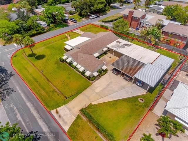 737 NE 7th St, Pompano Beach, FL 33060 (#F10281861) :: Michael Kaufman Real Estate