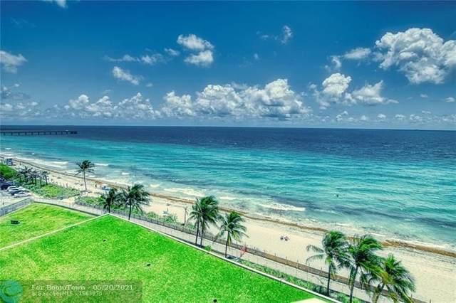 6051 N Ocean Dr #807, Hollywood, FL 33019 (#F10284094) :: Dalton Wade