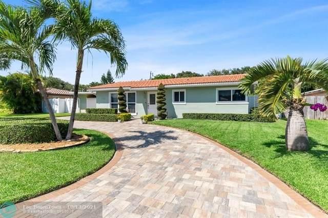 1991 NE 34TH ST, Lighthouse Point, FL 33064 (#F10302391) :: Michael Kaufman Real Estate