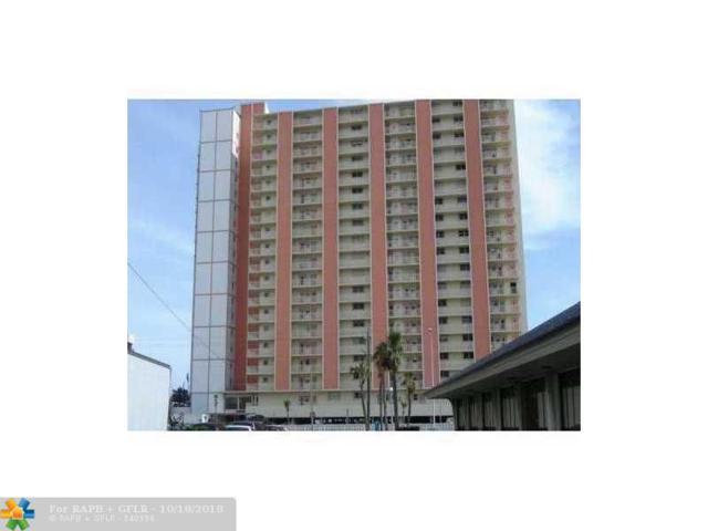 750 N Ocean Bl #1410, Pompano Beach, FL 33062 (MLS #F1292550) :: Green Realty Properties