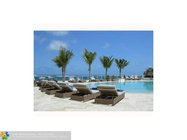 1 N Fort Lauderdale Beach Blvd #1610, Fort Lauderdale, FL 33304 (MLS #F1344966) :: Green Realty Properties