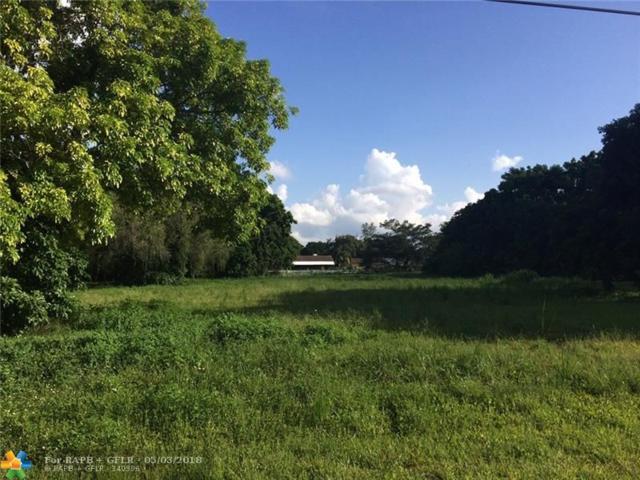 0 SW 52nd Ct, Fort Lauderdale, FL 33331 (MLS #F10025767) :: Green Realty Properties