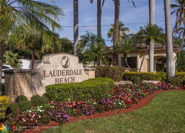 2701 N Ocean Blvd 8B, Fort Lauderdale, FL 33308 (MLS #F10103124) :: Green Realty Properties