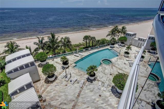 1600 S Ocean Blvd #604, Lauderdale By The Sea, FL 33062 (MLS #F10130973) :: Green Realty Properties