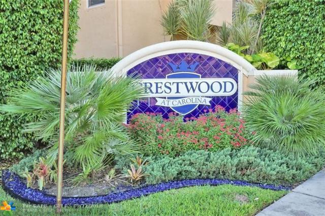 2954 Crestwood Ter #8104, Margate, FL 33063 (MLS #F10136316) :: Green Realty Properties