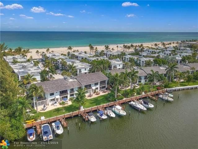 1551 S Ocean Ln #273, Fort Lauderdale, FL 33316 (MLS #F10164201) :: Green Realty Properties