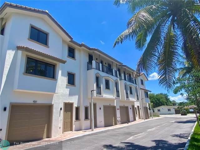 446 NW 41st St, Oakland Park, FL 33309 (MLS #F10236390) :: Castelli Real Estate Services