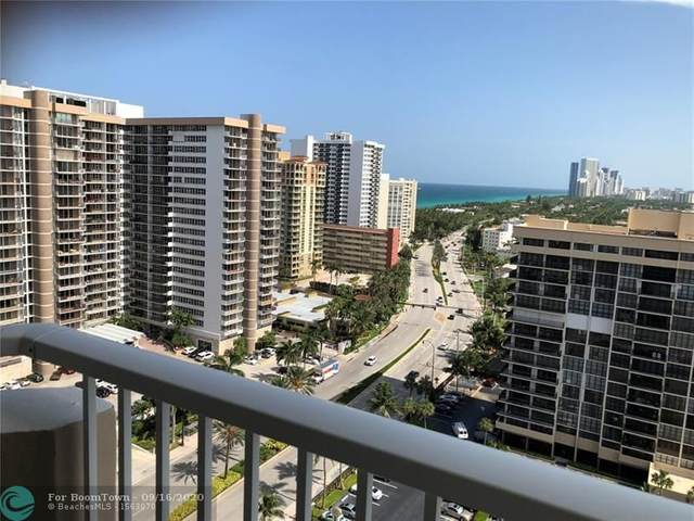 1985 S Ocean Dr 18L, Hallandale, FL 33009 (MLS #F10237009) :: Berkshire Hathaway HomeServices EWM Realty