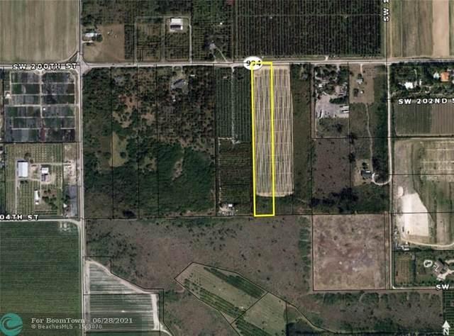 144xx SW 200 Street, Miami, FL 33177 (MLS #F10252278) :: GK Realty Group LLC