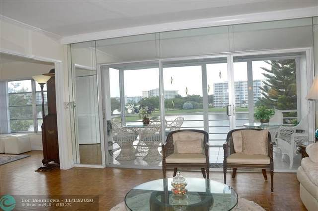 2751 N Palm Aire Dr #510, Pompano Beach, FL 33069 (MLS #F10253360) :: Castelli Real Estate Services