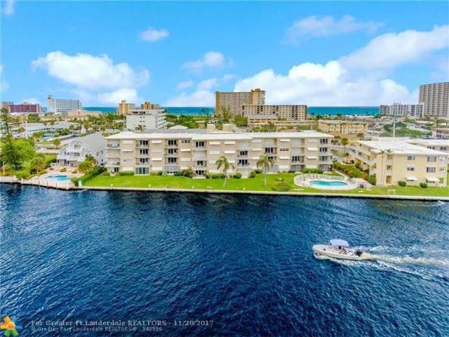 1111 N Riverside Dr #303, Pompano Beach, FL 33062 (MLS #F10093574) :: Green Realty Properties