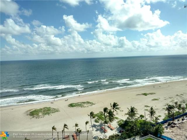 750 N Ocean Blvd #1606, Pompano Beach, FL 33062 (MLS #F10097199) :: Green Realty Properties