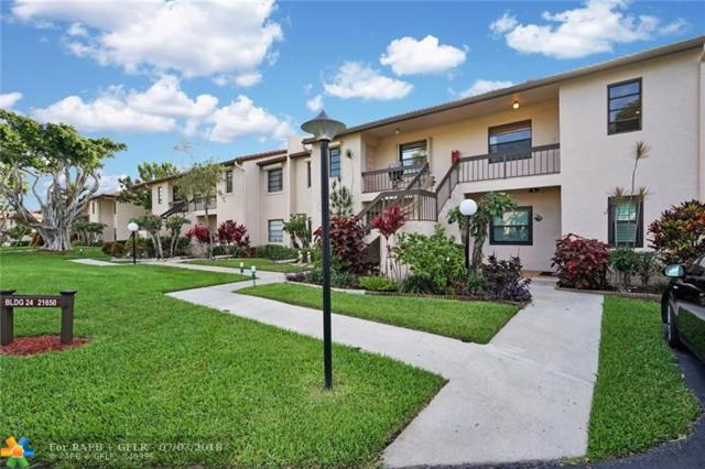 21650 Juego Circle 24F, Boca Raton, FL 33433 (MLS #F10122050) :: Green Realty Properties