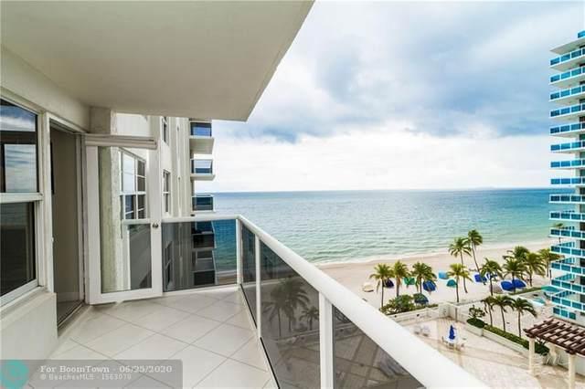 3500 Galt Ocean Dr #702, Fort Lauderdale, FL 33308 (MLS #F10202598) :: Berkshire Hathaway HomeServices EWM Realty