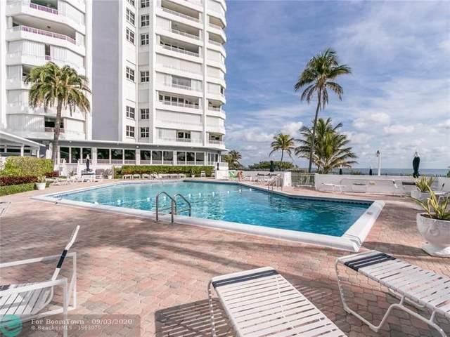 1340 S Ocean #909, Pompano Beach, FL 33062 (MLS #F10206863) :: Green Realty Properties