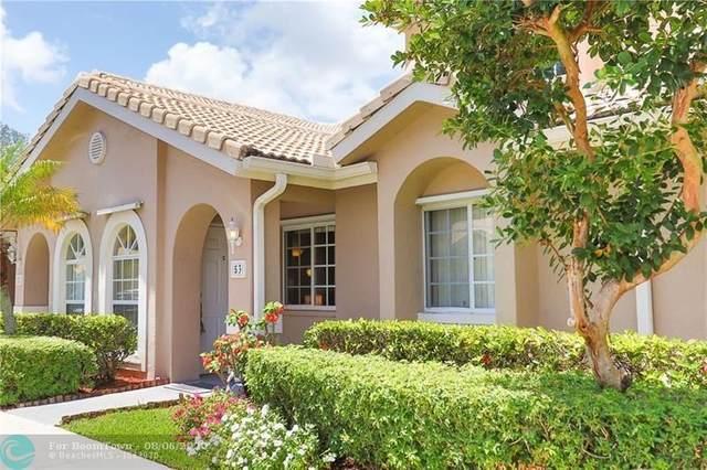 3191 Holiday Springs Blvd #53, Margate, FL 33063 (MLS #F10219492) :: Berkshire Hathaway HomeServices EWM Realty
