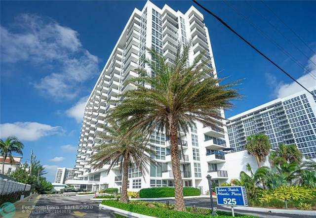 525 N Ocean Blvd #817, Pompano Beach, FL 33062 (#F10254272) :: Posh Properties
