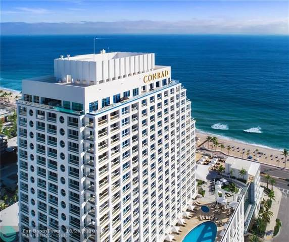 551 N Fort Lauderdale Beach Blvd R1809, Fort Lauderdale, FL 33304 (#F10255066) :: Signature International Real Estate