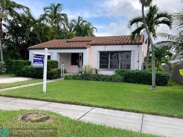 1024 Tyler St, Hollywood, FL 33019 (MLS #F10300394) :: Castelli Real Estate Services