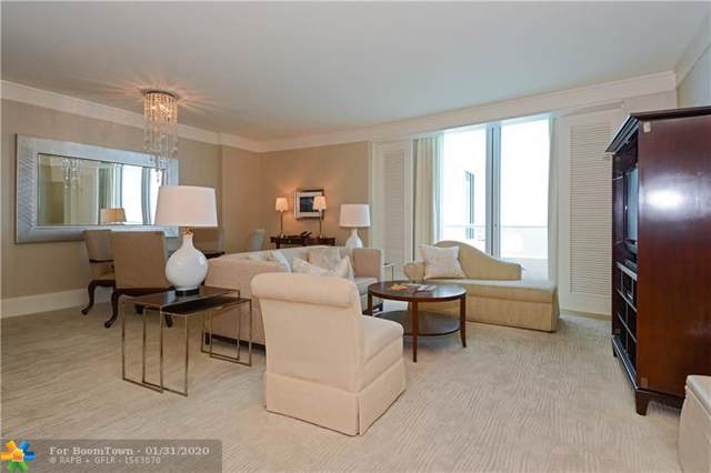 1 N Fort Lauderdale Beach Blvd #1705, Fort Lauderdale, FL 33304 (MLS #F10028418) :: The O'Flaherty Team