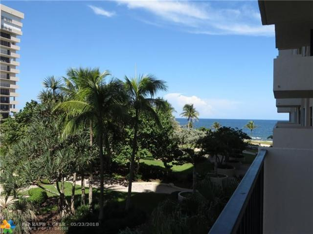 5000 N Ocean Blvd #306, Lauderdale By The Sea, FL 33308 (MLS #F10069646) :: Green Realty Properties